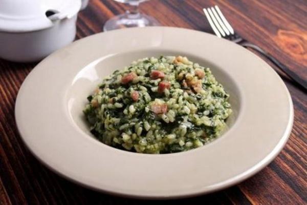 Recept na špenátové rizoto
