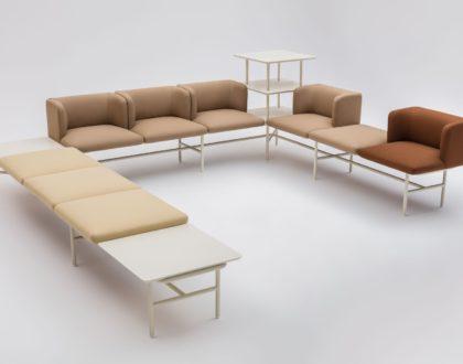 Modulární sedačky