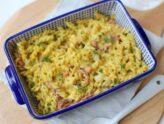 Recept na zapečené těstoviny