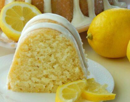 Jak připravit citronovou bábovku