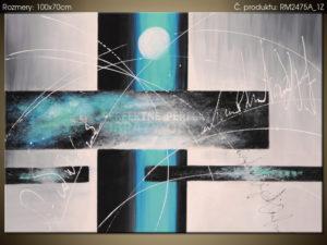 Ručně malovaný obraz na plátně