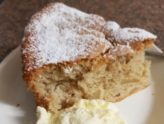 Recept na rychlý rebarborový koláč