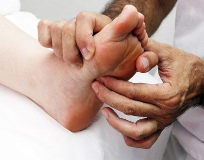 Reflexní masáž chodidel - udělejte si ji sami