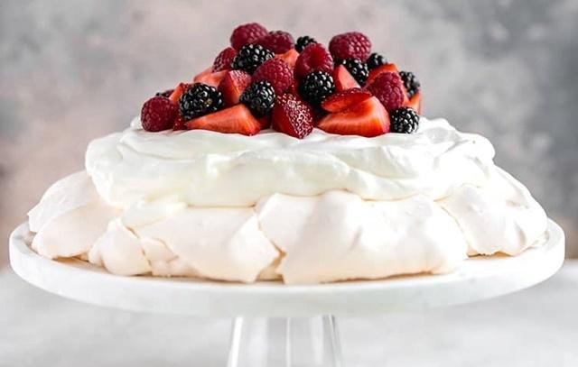 Jednoduchý recept na originální dort Pavlova