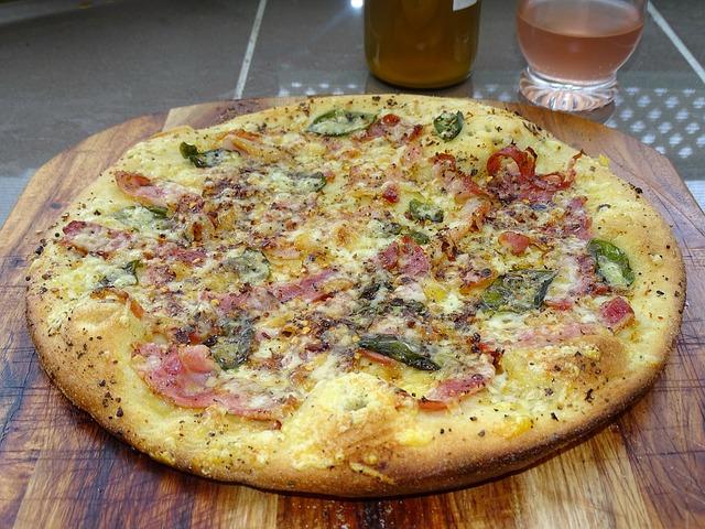 Pizza Prosciutto - recept