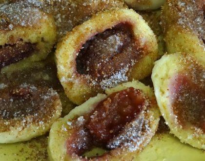 Recept na ovocné knedlíky