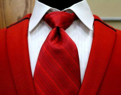 4 typy kravatových uzlů