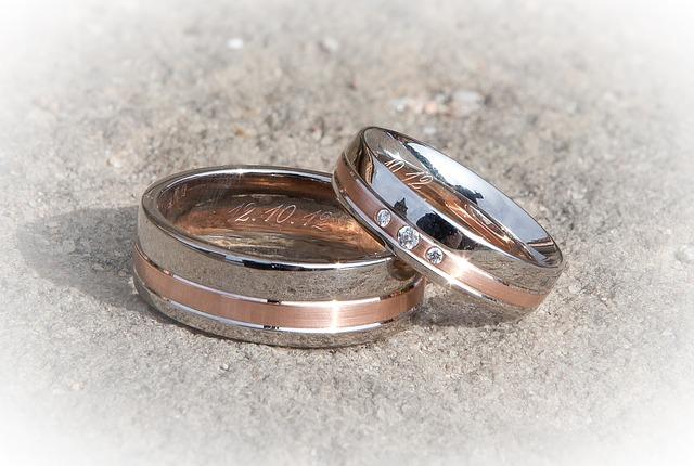 5 tipů, jak vybrat svatební prsteny