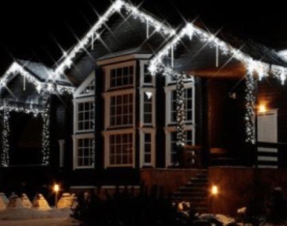 Vánoční dekorace - rampouchy