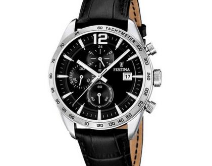 Kvalitní hodinky Festina si rychle oblíbíte