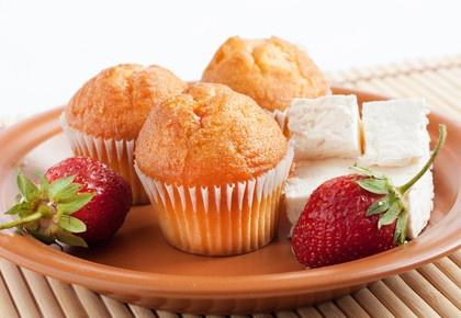 Recept na tvarohové muffiny