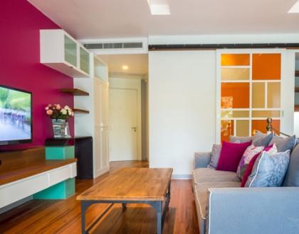 Oživte svůj byt barvami