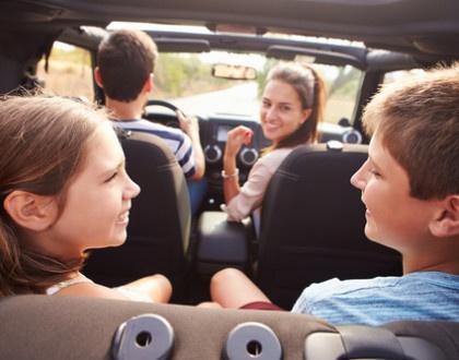 Jak zabavit malé dítě při cestování