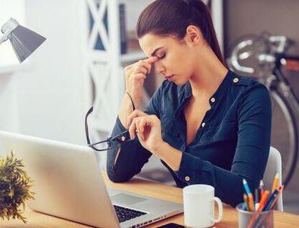 Jak reagovat na stres v práci