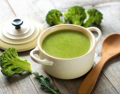 Recept na lehkou brokolicovou polévku